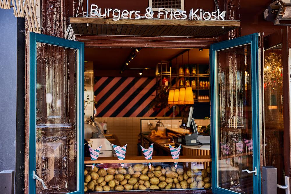 Ter Marsch & Co friet kiosk