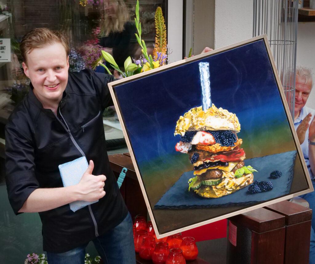 De Daltons recordpoging schilderij