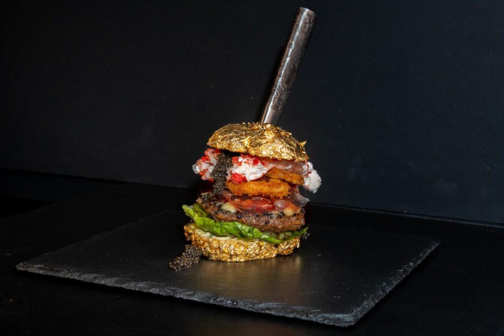 Duurste hamburger The Golden Boy